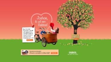 Babboe Bakfiets moederdagcampagne actiepagina