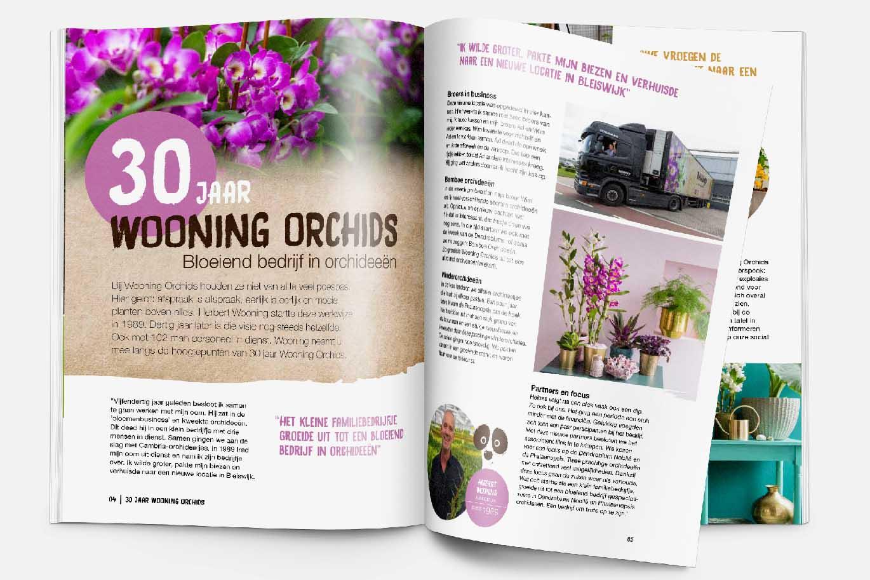 Bamboo Orchid magazine binnenwerk