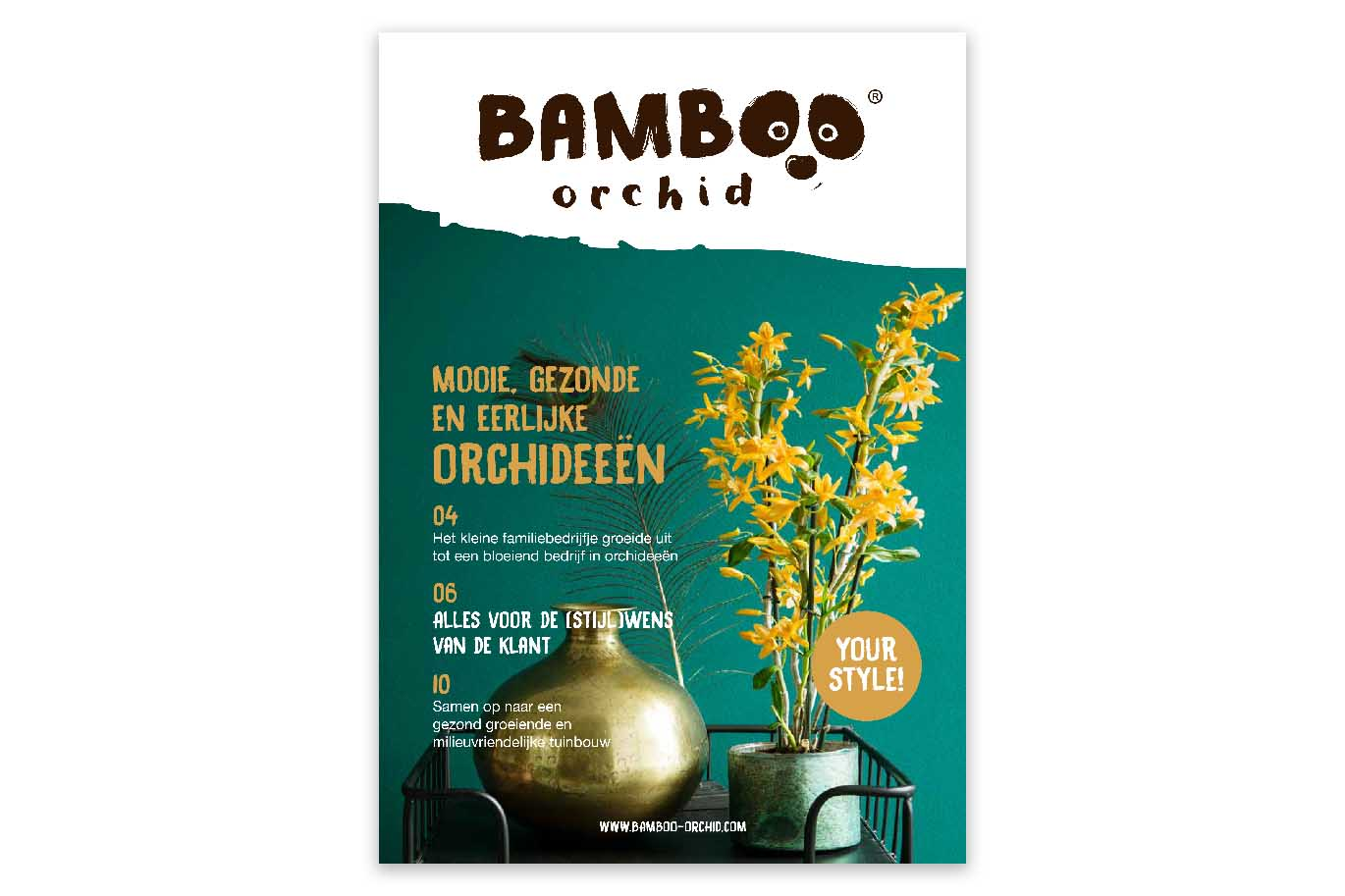 Bamboo Orchid magazine cover